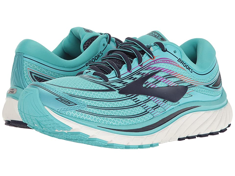 Brooks Glycerin(r) 15 (Capri/Evening Blue/Purple Cactus Flower) Women
