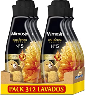 comprar comparacion Mimosín Collection Parfum Suavizante Nº 5, 52 Lavados 870 ml - Pack de 6