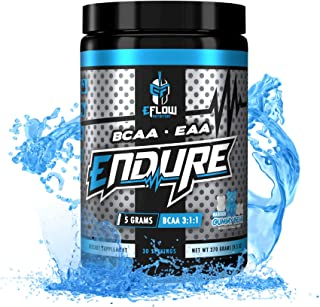 eFlow Nutrition Endure BCAA Plus EAA - Essential Amino Acids Electrolyte Powder Intra Workout - Improve Energy, Recovery a...