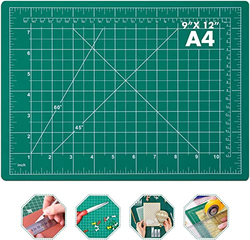 Self Healing Sewing Mat, Anezus Rotary Cutting Mat Double Sided 5-Ply Craft Cutting Board for Sewing Crafts Hobby Fab...