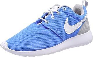 Nike Youth Roshe One (Photo Blue/White/Wolf Grey)(7 M US Big Kid)