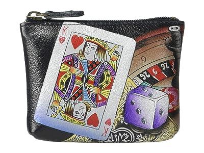 Anuschka Handbags Coin Pouch 1031 (High Roller) Handbags