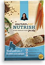 Rachael Ray Nutrish Natural Dry Cat Food, Salmon & Brown Rice Recipe, 3 lbs (Pack of 2)