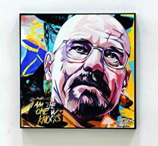 Walter White 2 Breaking Bad Poster POP Art Print Canvas Quotes Wall Decals Framed Fan Artwork
