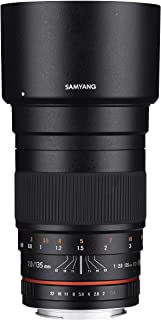 Samyang 135mm f/2.0 ED UMC Telephoto Lens for Canon EF Digital SLR Cameras