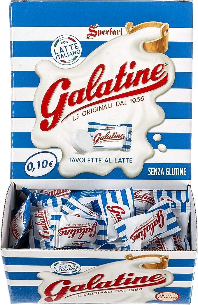 70 opinioni per Galatine- Caramelle al Latte, Incartate Singolarmente- Box da 200 Pezzi