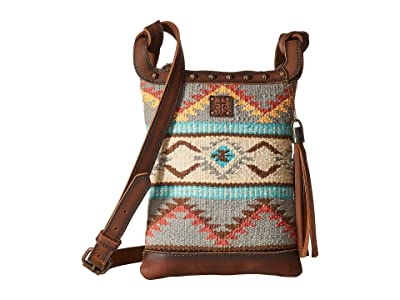 STS Ranchwear The Classic Crossbody (Tornado Brown/Sedona Serape) Cross Body Handbags