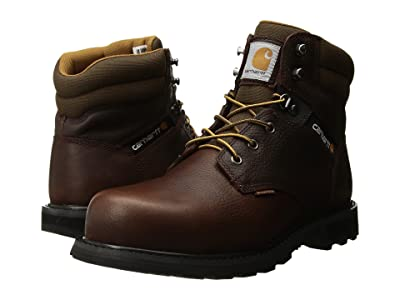 Carhartt 6 Waterproof Steel Toe Work Boot (Brown Pebble Oil Tanned) Men