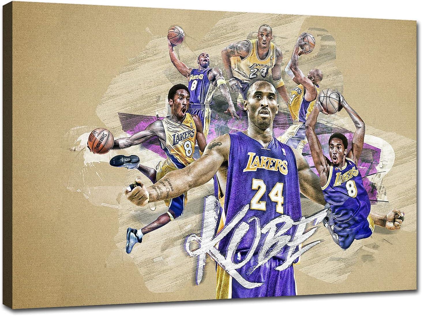 TWO J Legends Kobe Bryant Star Posters Nashville-Davidson Mall Memorabilia Basketball Gi Outstanding
