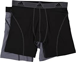 adidas Sport Performance ClimaLite 2-Pack Boxer Brief