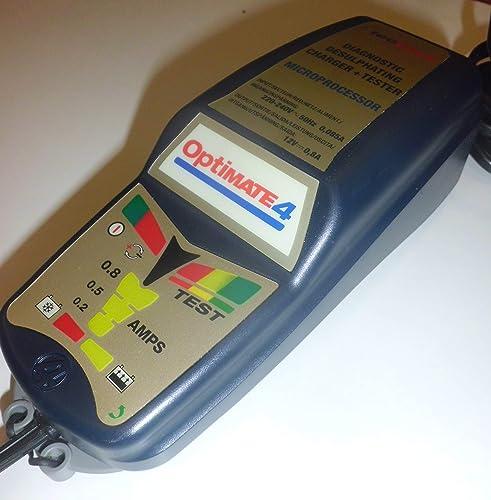 Tecmate - Chargeur de Batterie Optimate 4 pour Moto
