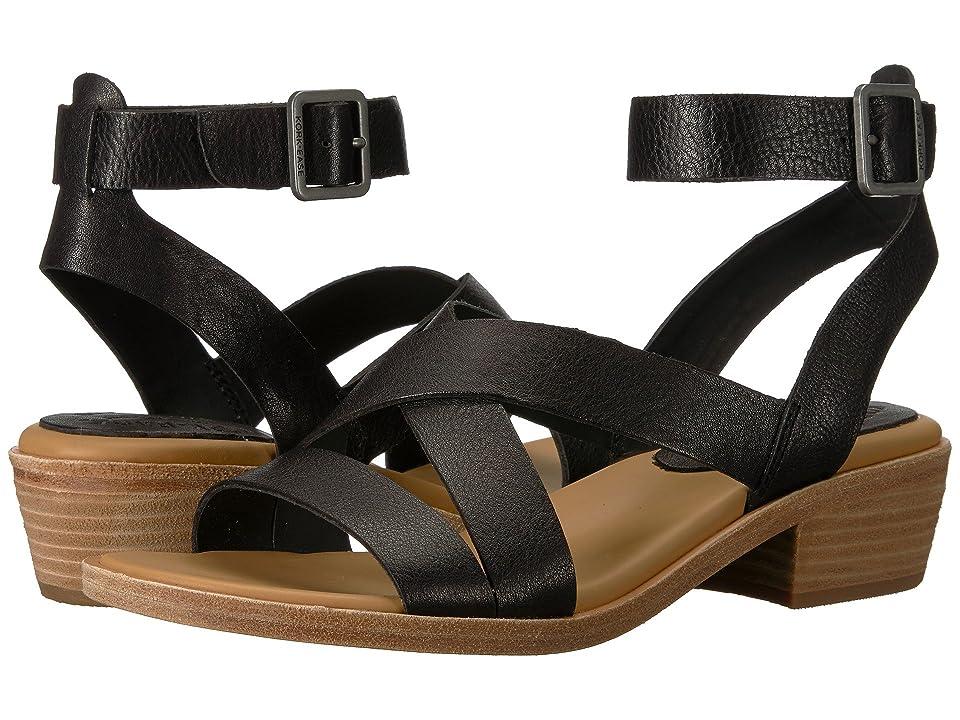 Kork-Ease Marianna (Black Full Grain Leather) Women