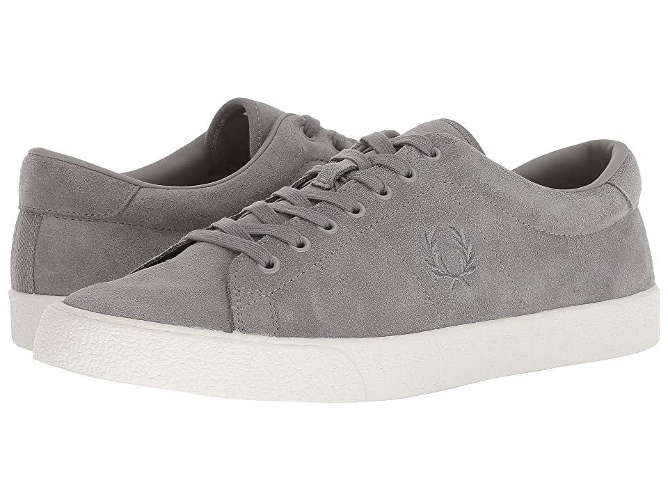 Fred Perry Underspin Suede Crepe (Falcon Grey) Men's Shoes