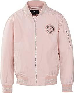 Girls' Zip Up Lightweight Casual Fashion Wind Flight Bomber Jacket