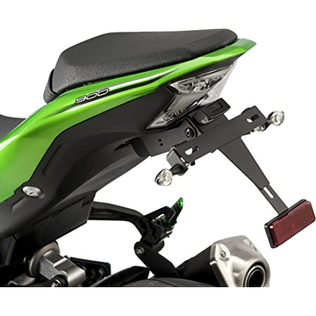Bruce /& Shark Portatarga per moto adatto per Kawasaki Z900 2017 Verde