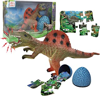 Spinosaurus Dinosaur for Kid 3 Years Old, 3 in 1 Toddler Toys Set for Kids Boys and Girls Age 3 and up Play, Education, Bi...