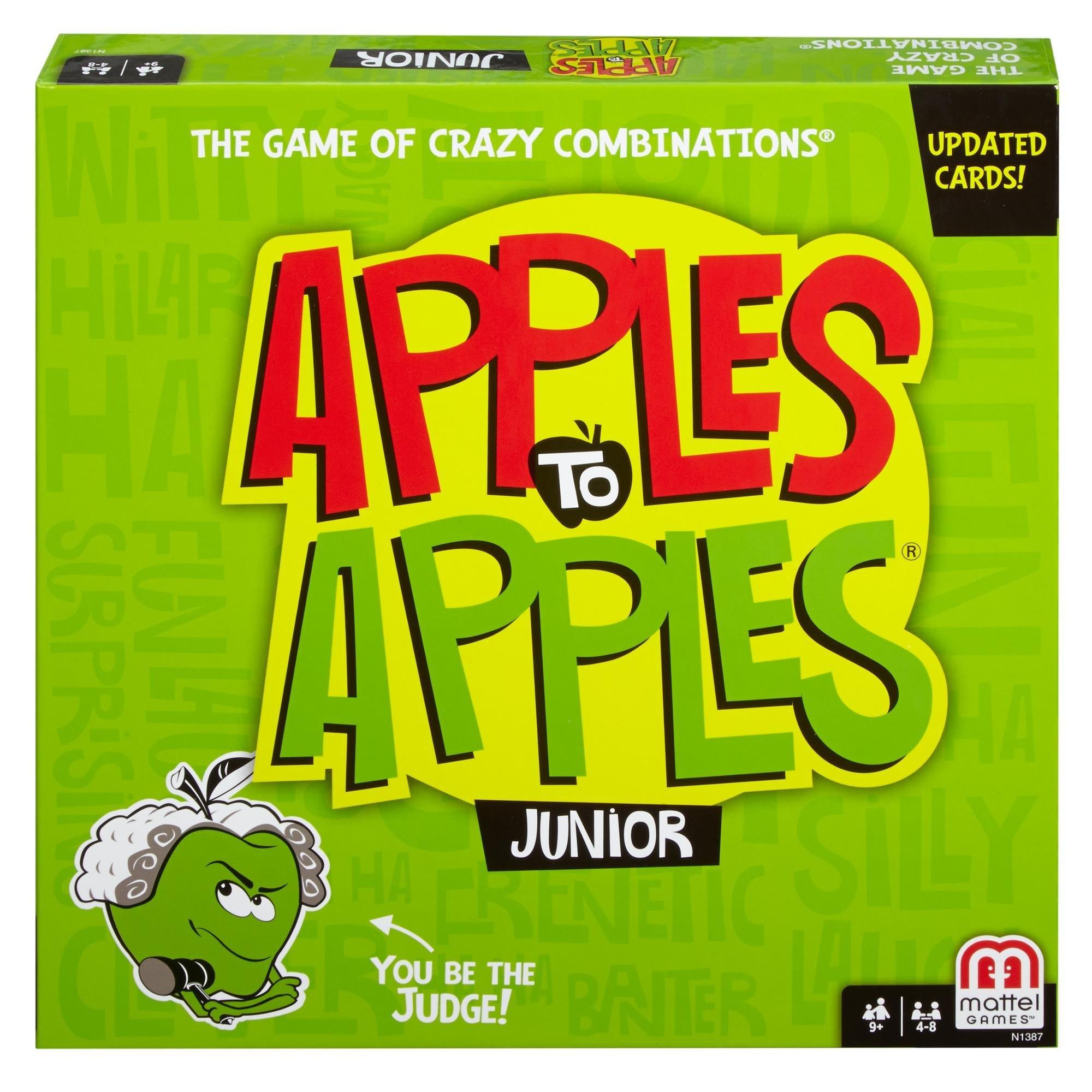Mattel Games Apples Junior Comparisons