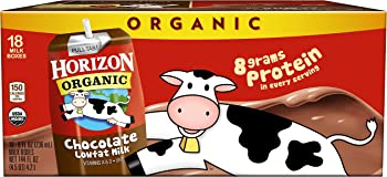 18-Pack Horizon Organic Lowfat Organic Milk Box 8 Fl. Oz