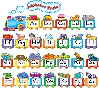 Teacher Created Resources Alphabet Train Bulletin Board Display Set (4421)