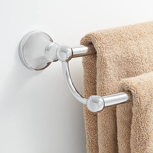 Signature Hardware 353564 Seattle 18 Double Towel Bar