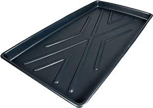 UltraTech 2370 Polyethylene Rack Containment Single Tray, 8 Gallon Capacity, 44