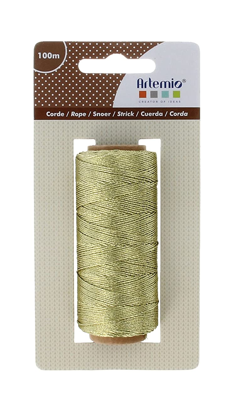 Artemio String, Textile, Gold, 7?x 4?x 13.5?cm
