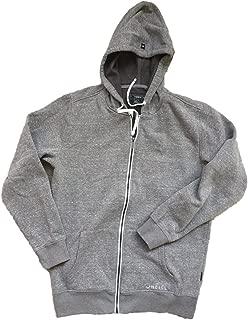 O'Neill Men's Fleece Full Zip Hooded Line Up Hoodie Jacket