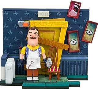 McFarlane Toys Hello Neighbor The Basement Door Small Construction Set (89 Piece)