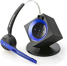 Sennheiser OfficeRunner Wireless Headset with Microphone, Blue