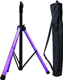 Speaker Stand - Lighted Legs - Ultra Bright LED Tubes - Adkins Professional