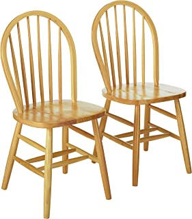 natural oak chairs
