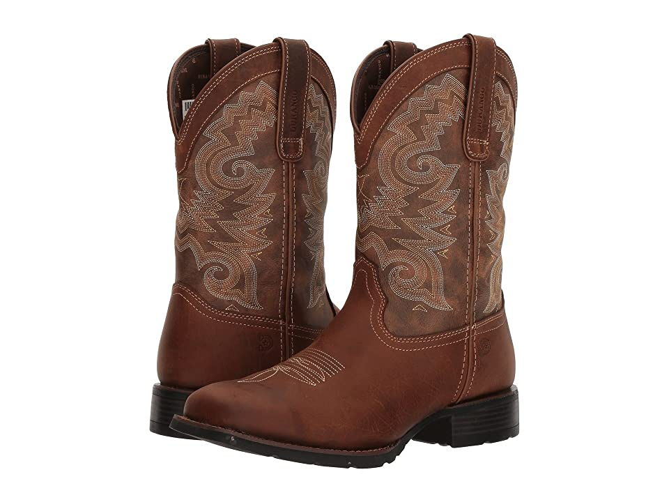 Durango Mustang 12 Western WP (Saddle Brown/Tobacco) Cowboy Boots