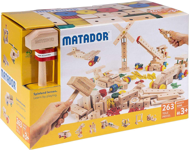 Matador Baukasten Holzspielzeug