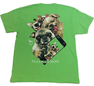 Youth Trust Your Selfie Funny Dog T-Shirt