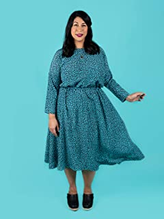 Tilly and the Buttons Lotta Dress Sewing Pattern, Paper, Multi, UK 6-24