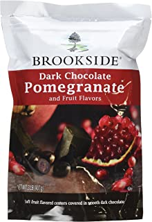 Brookside Dark Chocolate Pomegranate and Fruit Flavors Candy, 32-Ounce Bag (Pack of 2)