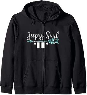 Jeepsy Soul Zip Hoodie