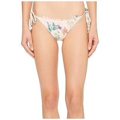 Isabella Rose Blossoms Tie Side Bondi Bikini Bottom (Multi) Women