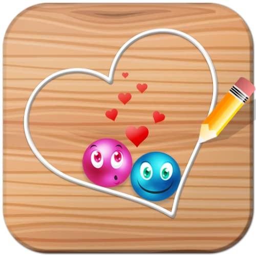 Lovely balls : Play the draw luv dots brain game