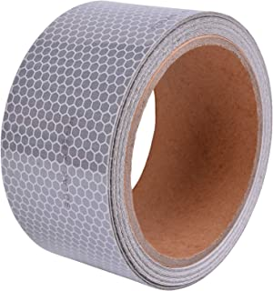 SOLAS Reflective Tape Silver Marine Safety Warning Tape(2in x 15ft)