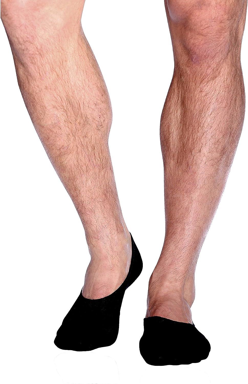 Boody Body EcoWear Men's Hidden Sock, Black, Size 611