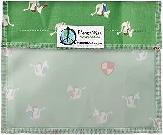 Planet Wise Window Sandwich Bag, Magic Dragon