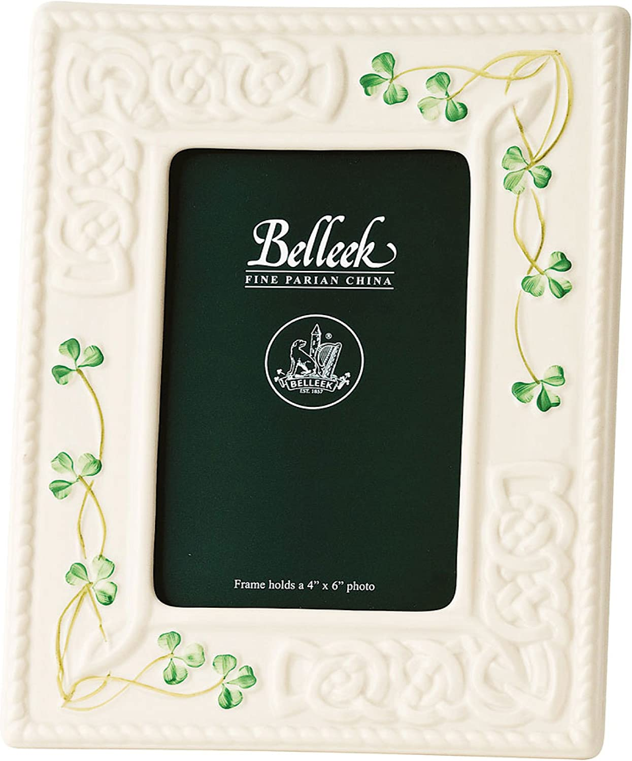 Belleek 2994 Tara 4 by 6-Inch Frame