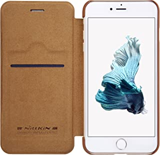 Nillkin Qin Leather Cover Case for Apple iPhone 7 Plus - Brown