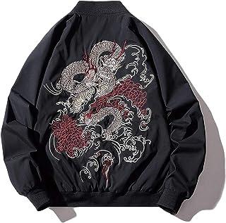 XYXIONGMAO Japanese Dragon Men'S Hip-Hop Clothing Oversized Men Bomber Jacket Couple Streetwear Pilot Jacket