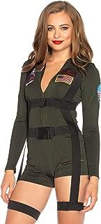 Women's Top Gun Romper Costume