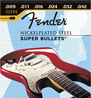 Fender 3250 L 9-42 Bullet End, Electric Guitar Strings
