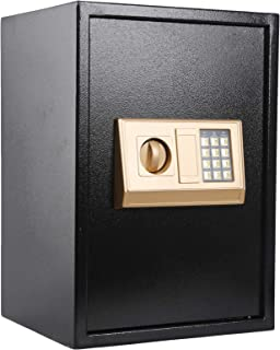 KYODOLED Digital Safe-Electronic Steel Safe with Keypad,Locked Cabinet,Large Safes for Home Money,Office,Hotel Business on...
