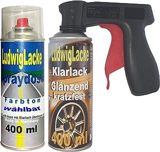 Ludwig Lacke Spray Set für VW Indigoblau LB5N + Griff