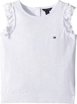 Tommy Hilfiger Kids - Ruffle Sleeveless Knit (Big Kids)